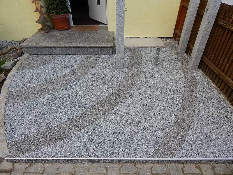 Steinteppich Aussenbereich